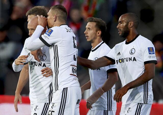 Legia zgodnie z planem. Pazdan z pierwszym golem