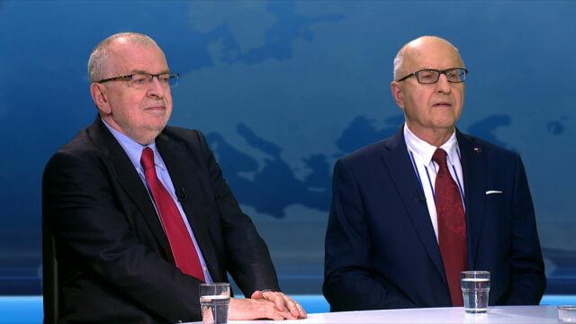 Gośćmi TVN24 byli Zbigniew Lewicki i Marek Ostrowski
