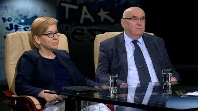 Paulina Hennig-Kloska i Marian Piłka w Tak Jest