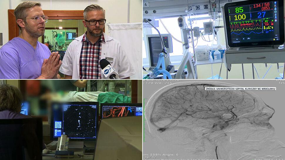 """""""Teddy Bear Technic"""". Bracia z Polski  swoją metodą ratują pacjentów z tętniakami"""