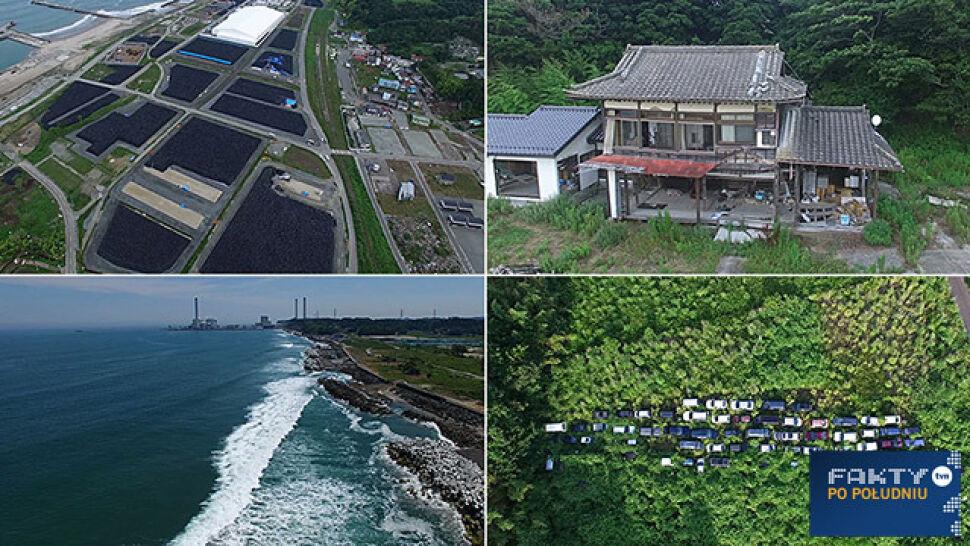 Zamrożone w czasie miasto widmo. Fukushima na niezwykłych zdjęciach Polaka