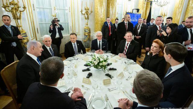 W Warszawie delegacje z kilkudziesięciu krajów. Na początek uroczysta kolacja