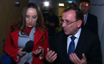 Koordynator służb Mariusz Kamiński nie chce odpowiadać na pytania w sprawie Mariana Banasia