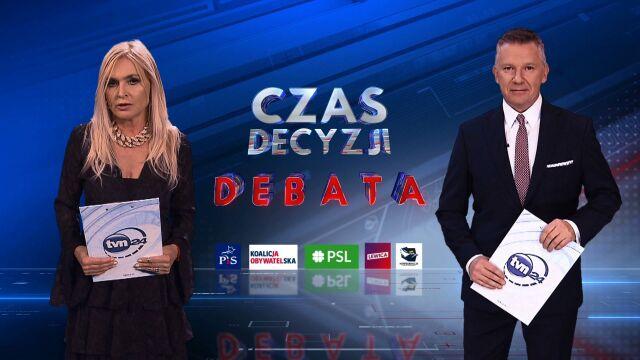 Pytania, riposty, podsumowania. Zasady wyborczej debaty w TVN24