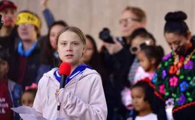 Thunberg w Denver apelowała o działania na rzecz klimatu