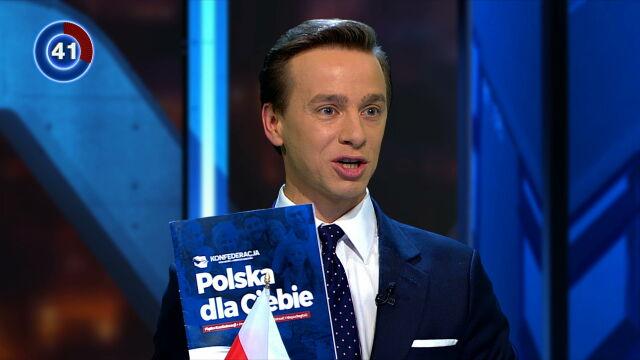 Bosak: Jesteśmy siłą konserwatywną, uważamy, że w Sejmie potrzebni są ludzi ideowi