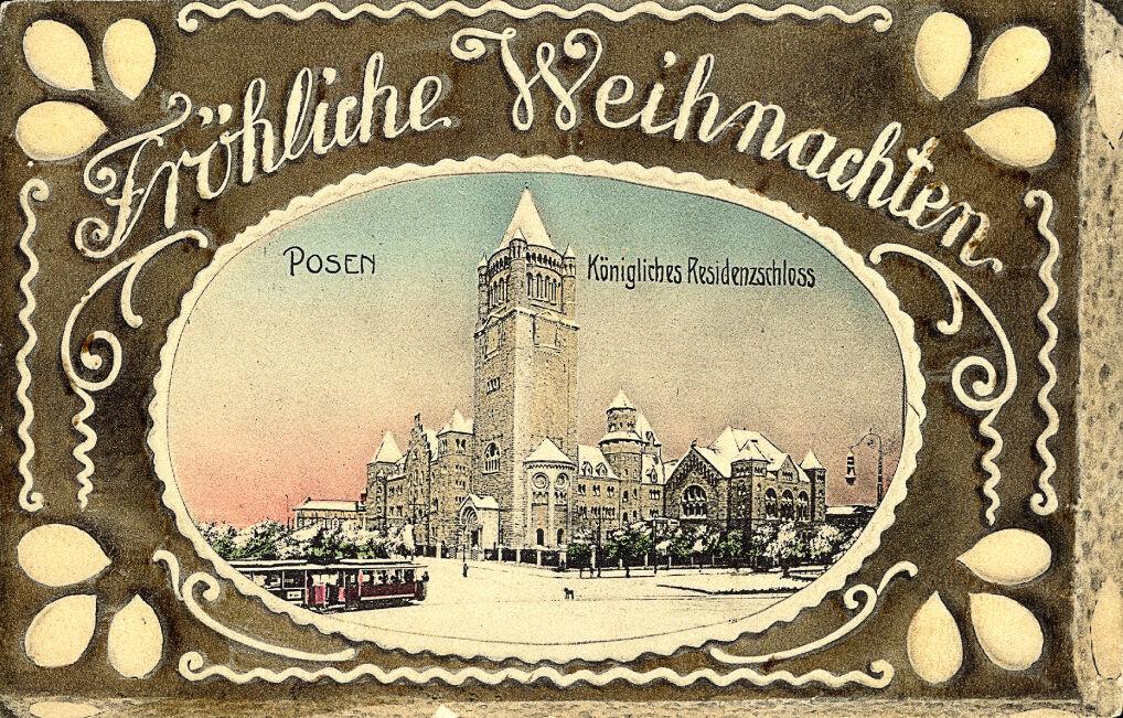Magazyn przybylski | Kartka świąteczna z wizerunkiem Zamku