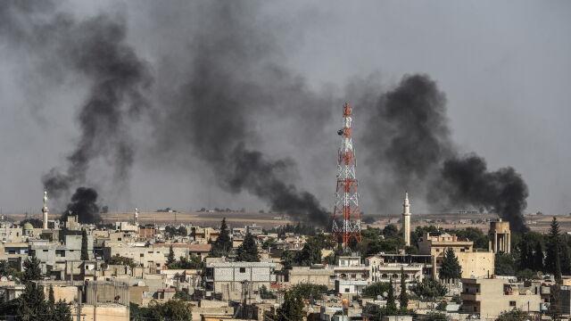 Turcy atakują, Kurdowie odpowiedzieli moździerzami