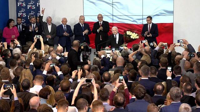 Kaczyński: zdołaliśmy wygrać i wszystko wskazuje na to, że to się utrzyma