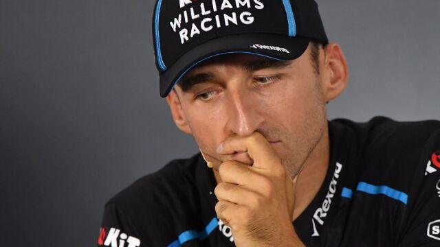 """Kubica podsumowuje sezon. """"Walka o 19. miejsce mnie nie interesuje"""""""