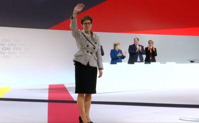 Annegret Kramp-Karrenbauer jest szefową CDU/CSU od grudnia 2018
