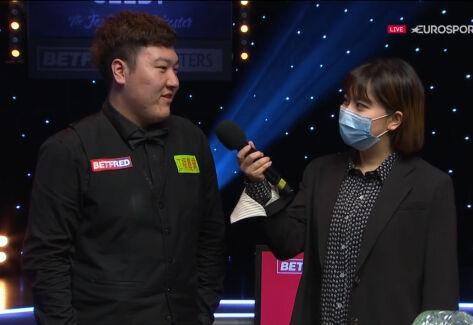 Yan Bingtao po triumfie w Masters