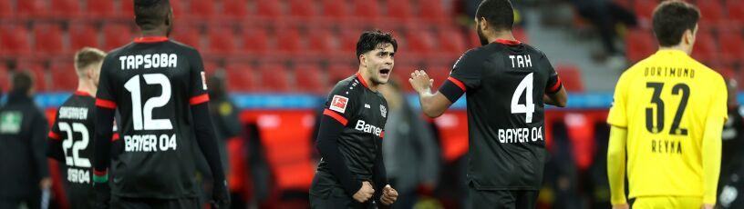 Walka za plecami Bayernu. Borussia nie dała rady w Leverkusen