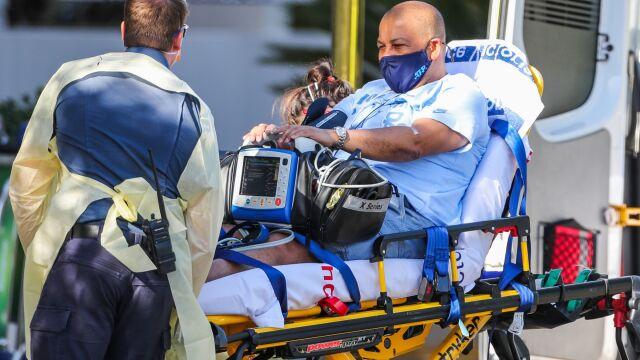 Z kwarantanny prosto do szpitala. Znany arbiter doznał zawału w pokoju hotelowym