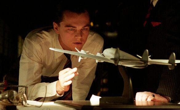 """""""Aviator"""" to kolejny film reżyserii Martina Scorsese, w którym wystąpił DiCaprio"""