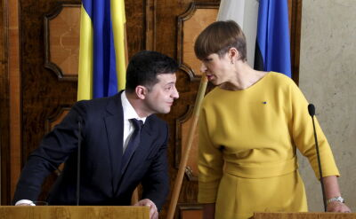 Prezydenci Estonii i Ukrainy zaapelowali do Rosji o zakończenie okupacji Krymu