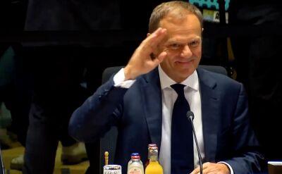 Donald Tusk żegna się z Radą Europejską