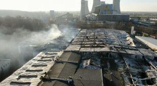 W płomieniach stracili miejsce pracy. Niepewna przyszłość części pracowników zakładu w Turku