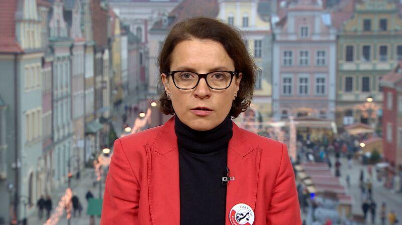Monika Frąckowiak o demonstracjach solidarności z sędziami