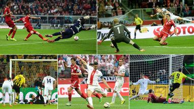Mourinho był wściekły, Guardiola złapał się za głowę. Największe strzeleckie popisy Lewandowskiego
