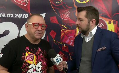 Cała rozmowa z Jerzym Owsiakiem w TVN24