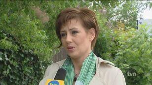 Poniedziałkowa wypowiedź aktorki dla TVN (dwa dni po pobiciu)