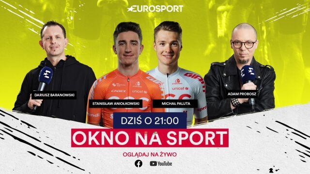 """Kolarskie nadzieje czekają na spełnienie. W """"Oknie na sport"""" Paluta i Aniołkowski"""