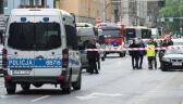Wybuch w centrum Wrocławia. Kierowca wyniósł z autobusu podejrzany pakunek