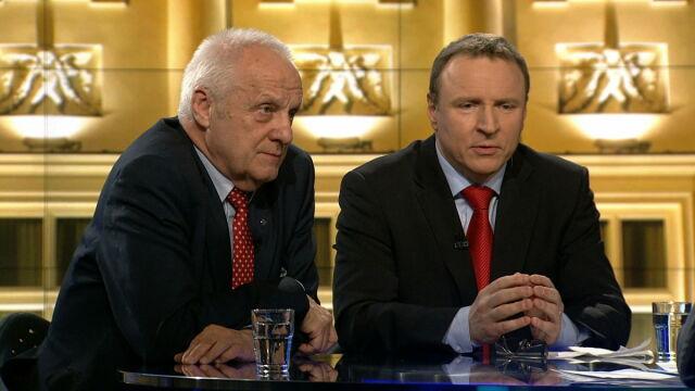 """Gośćmi """"Faktów po Faktach"""" byli Stefan Niesiołowski i Jacek Kurski"""