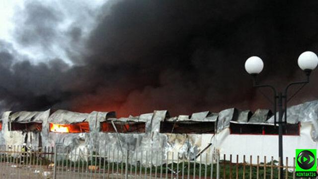 Pożar centrum handlowego pod Warszawą. Wypadek czy celowe zaprószenie?