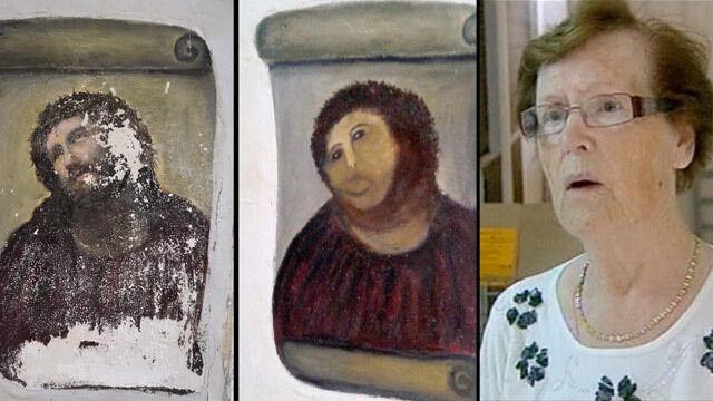 Konserwatorka-amatorka tłumaczy: Wszyscy widzieli, jak maluję