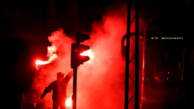 """Po """"Marszu Niepodległości"""": 72 zatrzymanych, 12 rannych policjantów"""