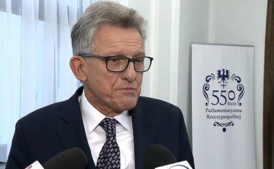 Stanisław Piotrowicz o nowelizacji ustawy o Sądzie Najwyższym