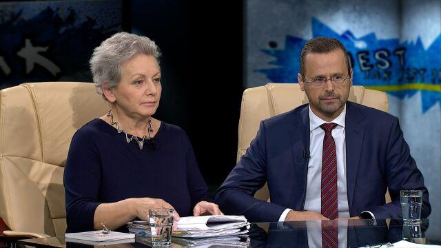 prof. Monika Płatek i dr Mariusz Sokołowski w Tak Jest