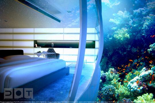 Podwodny hotel pomysłu gdańskich inżynierów będzie złożony z dwóch dysków