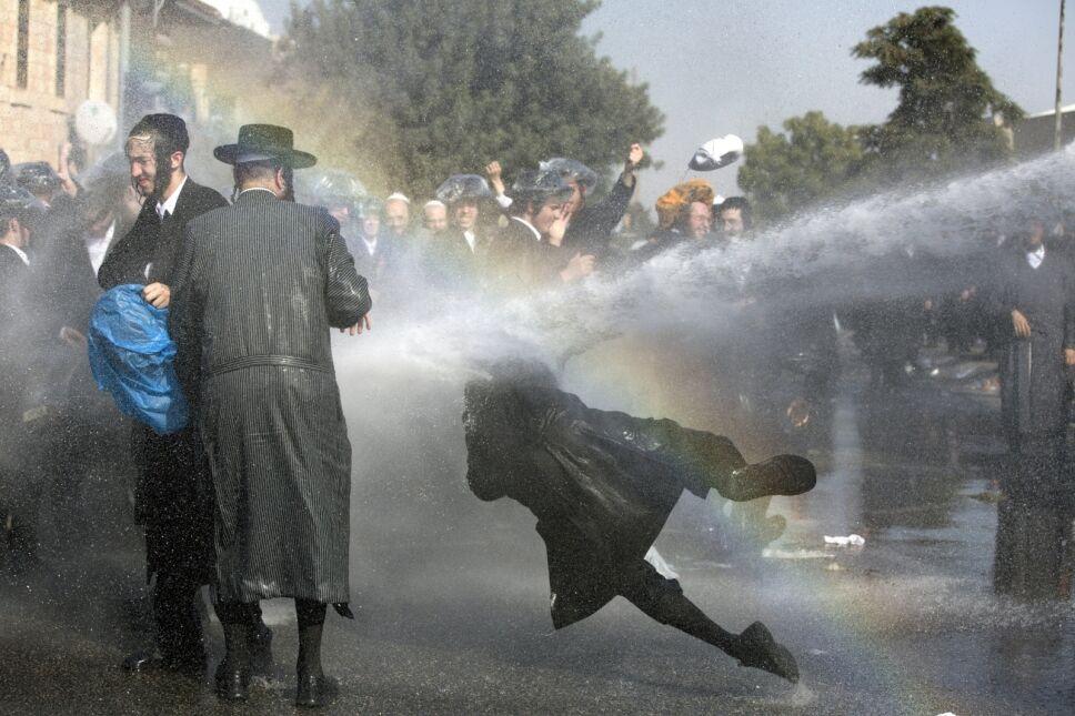 Protest ultraortodoksyjnych Żydów w Jerozolimie, Izrael