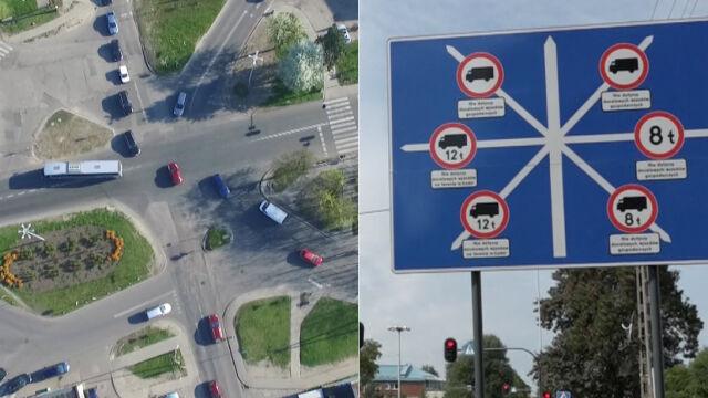 Niezwykłe skrzyżowanie to już nie jest zabytek? Urzędnicy się spierają, ale rondo ma powstać