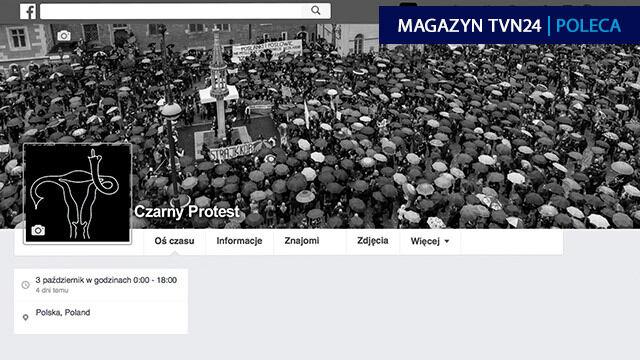 Czarny Protest miał się skończyć na lajkach. Dlaczego z sieci wyszedł na ulice?