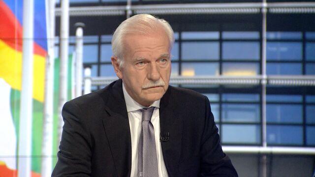 """Andrzej Olechowski w """"Faktach o Faktach"""""""