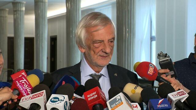 Terlecki: nie będzie nadzwyczajnego posiedzenia Sejmu. To są pogłoski