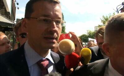"""""""Czy możliwe są przyśpieszone wybory?"""" Morawiecki opuszcza siedzibę PiS"""