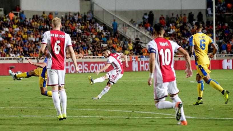 Półfinalista Ligi Mistrzów z problemami. Ajax tylko zremisował na Cyprze