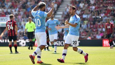 Manchester City tradycyjnie ograł Bournemouth. Dublet Sergio Aguero