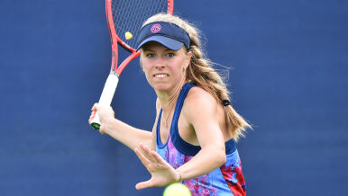 Magdalena Fręch w US Open. Pokonała rakietę numer dwa