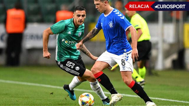 Legia Warszawa - Glasgow Rangers [RELACJA]