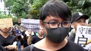 Pokojowe protesty w Hongkongu