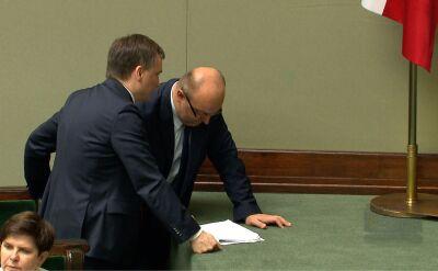 Rezygnacja wiceministra sprawiedliwości Łukasza Piebiaka po publikacji Onetu