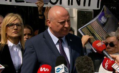 Parchimowicz: przed dymisją Ziobro powinien zachować się jak mężczyzna i przyjść do mediów wyjaśnić co działo się w Ministerstwie Sprawiedliwości
