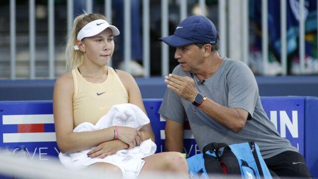 Wschodząca gwiazda tenisa nie zagra w US Open. Jej ojciec został znaleziony martwy
