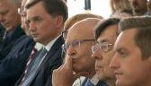"""Prezes TSUE i Ziobro na jednej konferencji. """"Nie mieliśmy okazji się spotkać"""""""